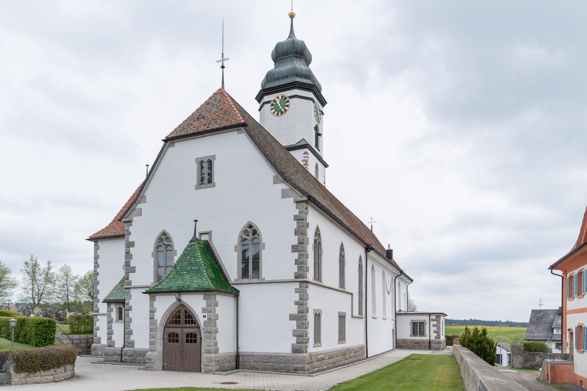 Architekturbüro Kaiser Referenz Pfarrkirche St. Fides
