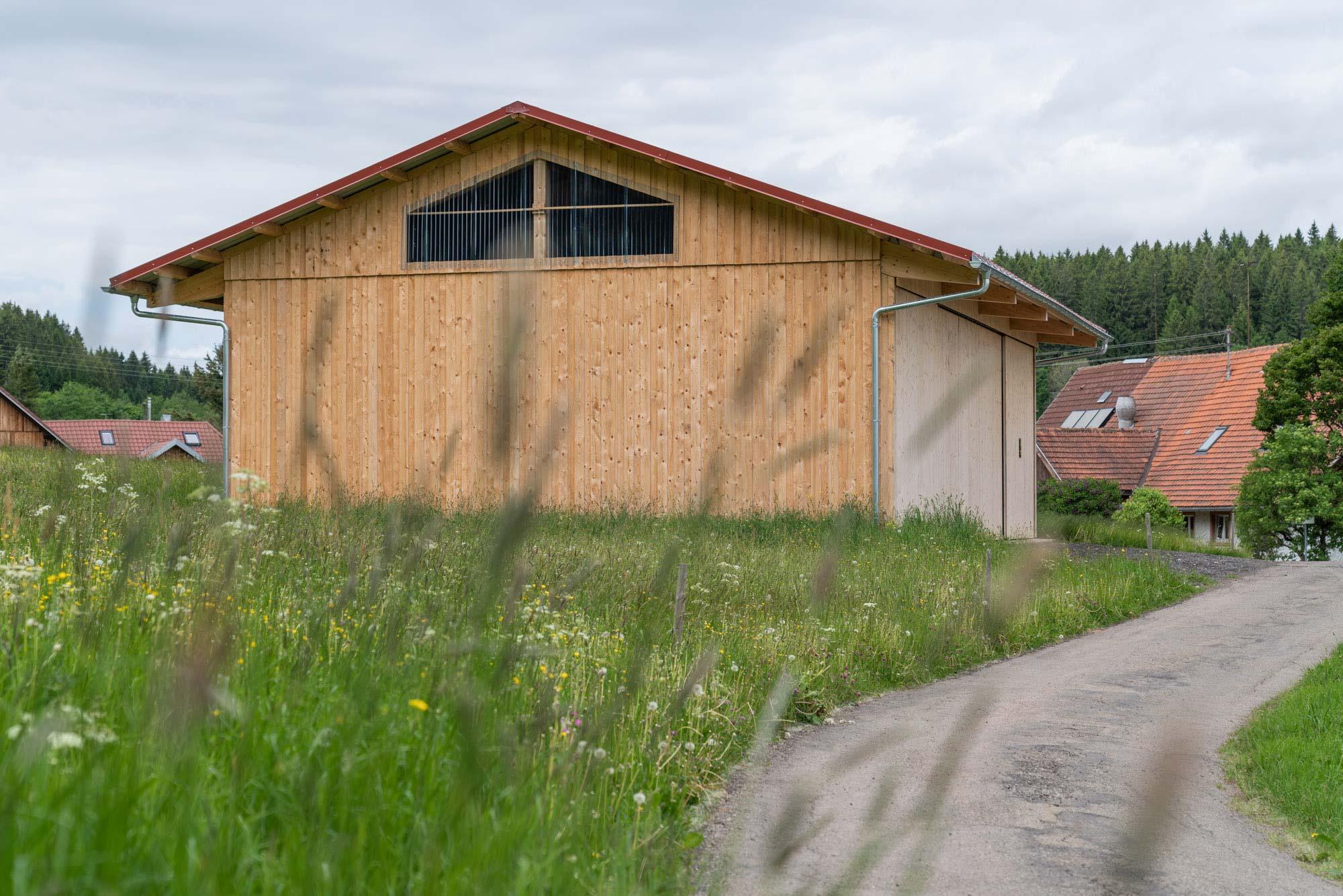 Architekturbüro Kaiser Referenz Maschinen- & Heulagerschuppen