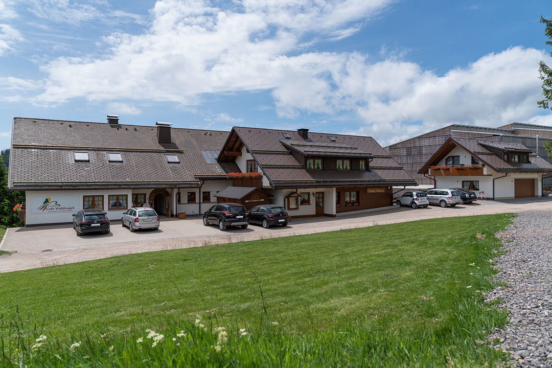 Architekturbüro Kaiser Referenz Gasthaus Cafe Waldvogel